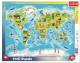Пазл Trefl Карта мира с животными / 31340 (25эл) -