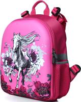 Школьный рюкзак Galanteya 63619 / 0с745к45 (малиновый) -