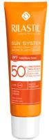 Крем солнцезащитный Rilastil Sun System PPT SPF50+ водост. д/чувств. кожи с Pro-DNA Complex (50мл) -