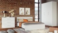Комплект мебели для спальни Империал Венера 3 (белый) -