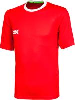 Футболка игровая футбольная 2K Sport Classic / 120014 (YM, красный/белый) -