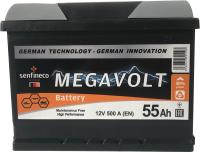 Автомобильный аккумулятор Senfineco Megavolt 1110L/55-L2 (55 А/ч) -