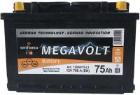 Автомобильный аккумулятор Senfineco Megavolt 1202R/75-L3 (75 А/ч) -