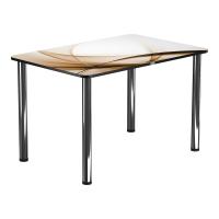 Обеденный стол Васанти Плюс ПРФ 100x60 (хром/111) -