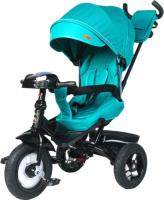 Детский велосипед с ручкой Bubago Triton BG1320 (Green) -