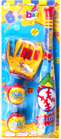 Активная игра Darvish Бита бейсбольная с мячами и перчаткой / DV-T-2492 -