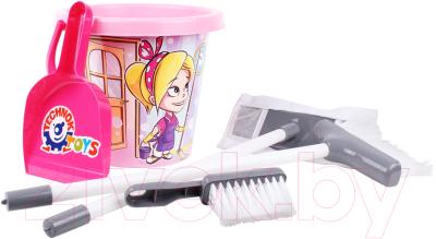 Набор хозяйственный игрушечный ТехноК Набор для уборки / 5835