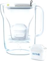 Фильтр питьевой воды Brita Style XL MX + LED (серый) -