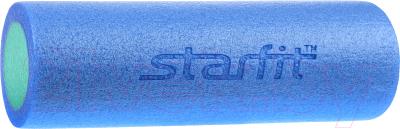 Валик для фитнеса массажный Starfit FA-501 (синий/голубой)