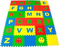 Коврик-пазл Eco Cover Английский Алфавит / 25МПД2/А -
