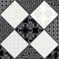Линолеум Juteks Strongru Plus Chess-4 990D (3x3.5м) -