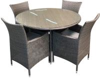 Комплект садовой мебели Sundays JS-D-098 (серый) -