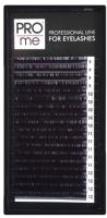 Ресницы для наращивания Pro Me Soft Микс C 0.12 9-12 (18 линий) -