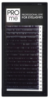 Ресницы для наращивания Pro Me Soft Микс D 0.10 9-12 (18 линий) -