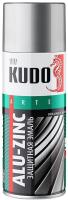 Эмаль Kudo Alu-Zink KU1090 (520мл, серебристый) -