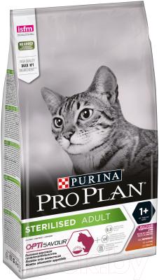Корм для кошек Pro Plan Sterilised утка, печень