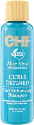 Шампунь для волос CHI Aloe Vera With Agave Nectar с алоэ и нектаром агавы (30мл)