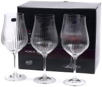 Набор бокалов Bohemia Crystal Tulipa Optic 40894/36/550 (6шт) -