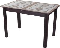 Обеденный стол Домотека Танго ПР-1 80x120-157 (ст-71/венге/04) -