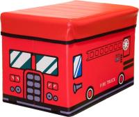 Ящик для хранения Фея Порядка Пожарная машина FK-102 (красный) -