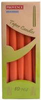 Набор свечей Белбогемия Provence 560107/37 / 13447 (10шт, оранжевый) -