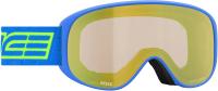 Маска горнолыжная Salice 2020-21 / 100DARWF (голубой/прозрачный) -