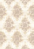 Ковер Atlantik Hali Mimosa 9463 (160x230, белый/коричневый) -