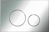 Кнопка для инсталляции AM.PM I049051 (глянцевый хром) -