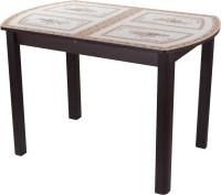 Обеденный стол Домотека Танго ПО-1 80x120-157 (ст-72/венге/04) -
