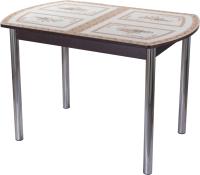 Обеденный стол Домотека Танго ПО-1 80x120-157 (ст-72/венге/02) -