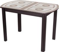 Обеденный стол Домотека Танго ПО-1 80x120-157 (ст-71/венге/04) -