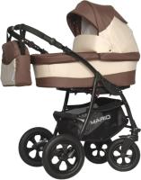 Детская универсальная коляска Riko Mario 3 в 1 (05/шоколад) -