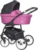 Детская универсальная коляска Riko Basic Sport 3 в 1 (03/Magenta) -
