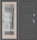 Входная дверь el'Porta Porta S 104.П61 Антик серебристый/Cappuccino Veralinga (88x205, левая) -