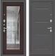 Входная дверь el'Porta Porta S 104.П61 Антик серебристый/Wenge Veralinga (88x205, левая) -