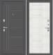 Входная дверь el'Porta Porta S 109.П29 Антик серебристый/Bianco Veralinga (88x205, правая) -