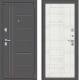 Входная дверь el'Porta Porta S 109.П29 Антик серебристый/Bianco Veralinga (98x205, правая) -