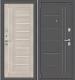 Входная дверь el'Porta Porta S 109.П29 Антик серебристый/Cappuccino Veralinga (88x205, левая) -