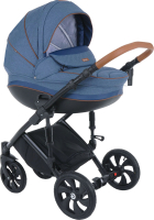 Детская универсальная коляска Tutis Mimi Style 3 в 1 / 783382/А (Aqua) -