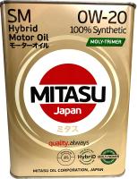 Моторное масло Mitasu Moly-Trimer Hybrid 0W20 / MJ-M02-6 (6л) -