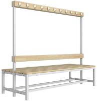 Скамейка для раздевалки ТитанМетаБел Р5 (2м) -