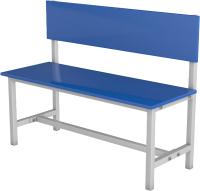 Скамейка для раздевалки ТитанМетаБел Р2 ЛДСП (1.5м) -