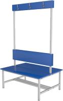 Скамейка для раздевалки ТитанМетаБел Р5 ЛДСП (1м) -