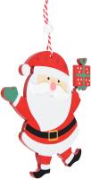 Елочная игрушка Erich Krause Decor Веселый Санта / 45771 -
