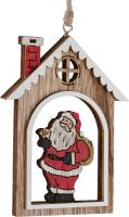 Елочная игрушка Erich Krause Decor Новый год в окне / 45769 -