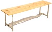 Скамейка для раздевалки ТитанМетаБел Р1 (1м) -