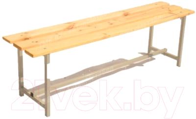 Скамейка для раздевалки ТитанМетаБел Р1