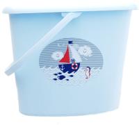Урна для подгузников Maltex Океан и море / 5535 (голубой) -
