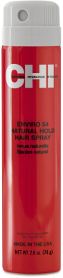 Лак для укладки волос CHI Enviro 54 Flex Hold Hair Spray-Natural средней фиксации лак для укладки волос сильной фиксации aveda control force firm hold hair spray 300 мл