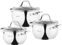 Набор кухонной посуды Ardesto Gemini / AR1906GSS -
